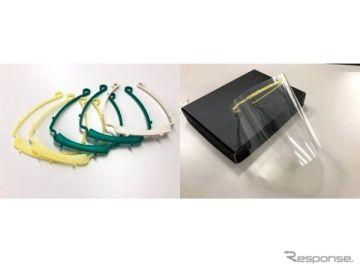 医療用フェイスシールド不足解消へ、ジヤトコも試作用3Dプリンターで製作開始