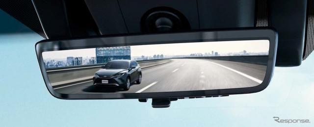 【トヨタ ハリアー 新型】録画機能付き「デジタルインナーミラー」はドラレコ機能を備えるのか?