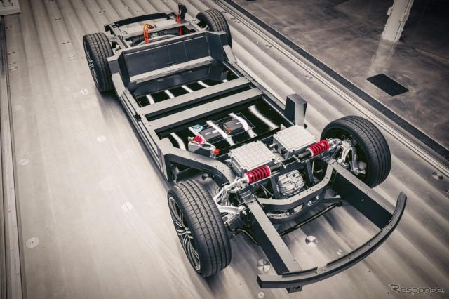 カルマの次世代電動車向け車台「カルマ Eフレックス」《photo by Karma Automotive》