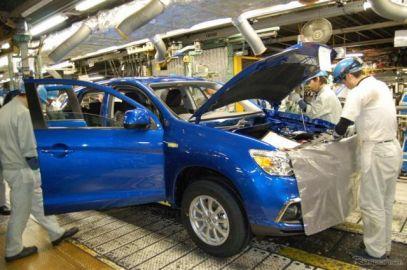 三菱自動車の総生産台数、7か月連続マイナス---4.1%減の12万4234台 2020年3月実績