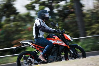 【浦島ライダーの2輪体験記】KTM 250DUKEは、アクティブに楽しめるファンバイク