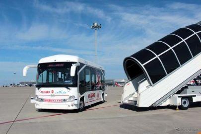 中部国際空港で自動運転EVバス実証実験、ZMPなど参加