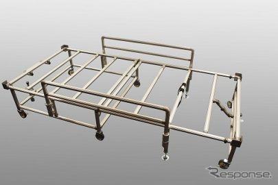 アイシン精機、医療現場向けの簡易ベッド台・簡易間仕切り壁を生産 5月中旬から