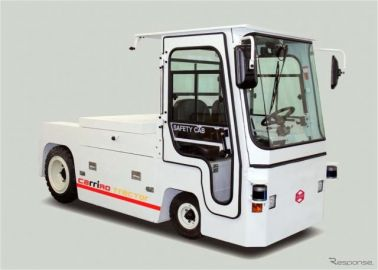 ZMP、自動運転電動牽引車「キャリロトラクター」を発売