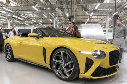 最新のV8 コンチネンタルGT に、生産わずか12台の『バカラル』…英国工場でベントレーの今と未来を見た