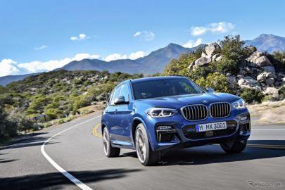 BMW X3/X4、新車装着タイヤを「ADVANスポーツV107」に切り替え