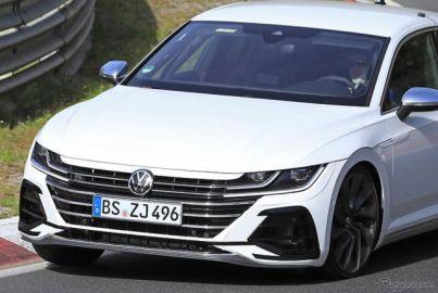 VW最速4ドアクーペ『アルテオンR』に3L・VR6ターボ搭載の可能性