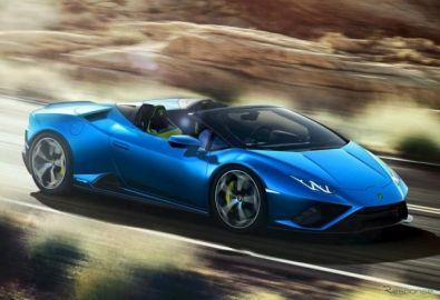 ランボルギーニ ウラカン スパイダー、「エボ」に後輪駆動モデル…自然吸気V10は610馬力