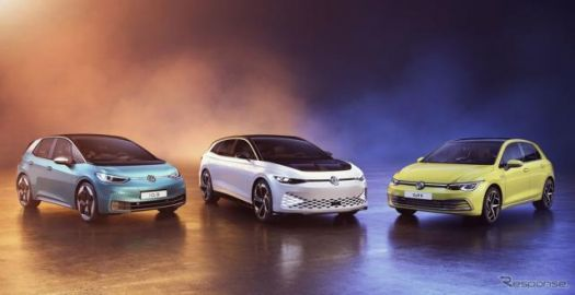 VW ゴルフ 新型など3車種、自動車ブランドコンテストで受賞…新世代EV 『ID.3』は最高評価