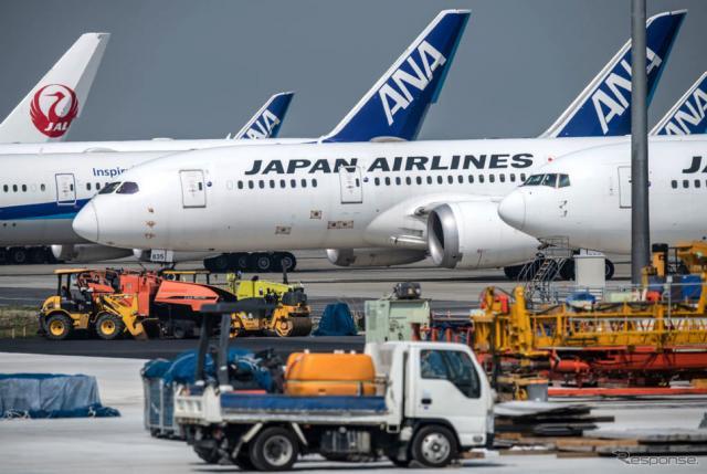 4月30日、東京羽田空港《photo (c) Getty Images》