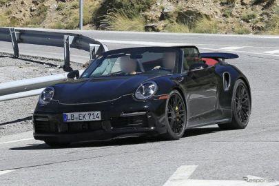 「S」に続きマイルドな「ターボ」も…ポルシェ 911ターボ 新型、発表は間近?