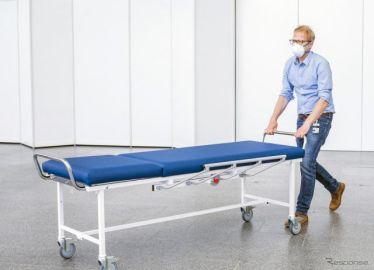 コンチネンタル、移動式ベッド用の抗菌カバー開発…新型コロナの仮設病院で使用