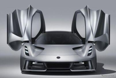 ロータスのEVハイパーカー『エヴァイヤ』、最新エアロ技術を採用…2020年後半から生産[動画]