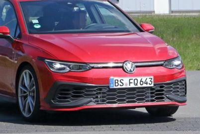 VW ゴルフGTI TCR、早くも2世代目をフルヌード激写!デビュー間近か