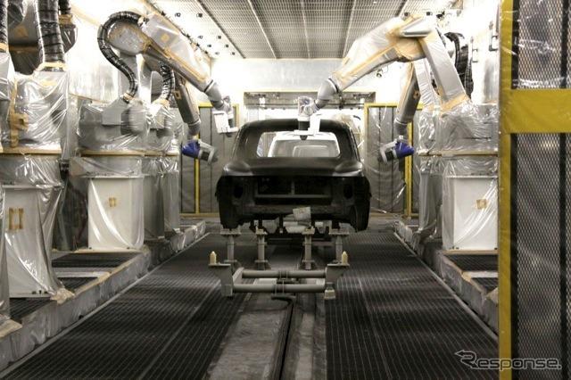日産車体九州工場(参考画像)《写真 日産自動車》
