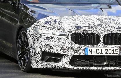 戦闘態勢は万全!BMW M5 改良新型、新デザインもくっきりと