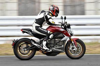 【ゼロモーターサイクルズ SR/F 試乗】ハイエンドEVバイクの明るい未来を見た…青木タカオ