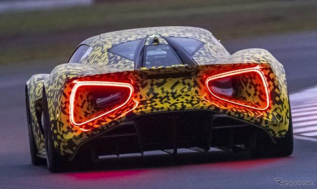 ロータス・エヴァイヤ の開発プロトタイプ車両《photo by Lotus Cars》