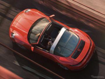 ポルシェ 911タルガ 新型…992世代、第3のボディ発表