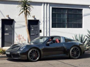 ポルシェ 911タルガ 新型…ルーフの開閉は19秒