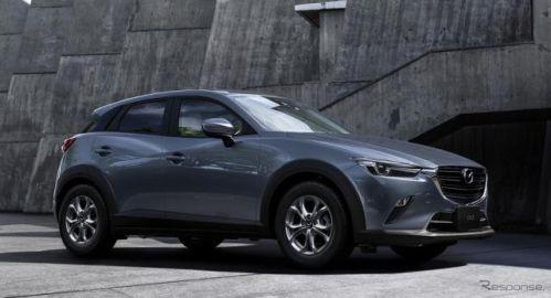 マツダ CX-3、1.5リットルガソリンモデルを追加…100周年特別記念車も設定