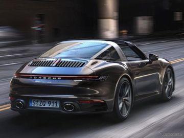 ポルシェ 911タルガ 新型、予約受注開始…日本価格は1729万円より