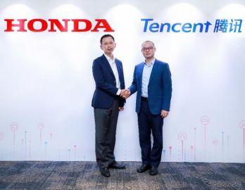 ホンダ、中国ネット大手のテンセントと提携…アプリの車載化で