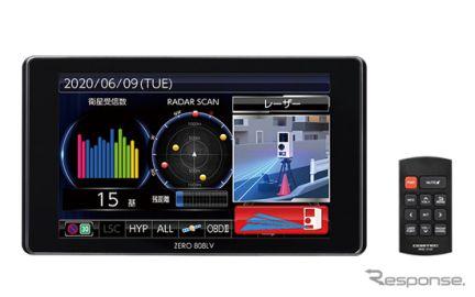 コムテック、GPSレーザー&レーダー探知機ハイエンドモデルを近日発売…受信性能150%アップ