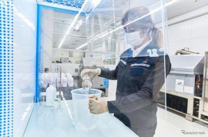 三菱ふそう、マテリアルラボで消毒液を製造 医療施設に配布
