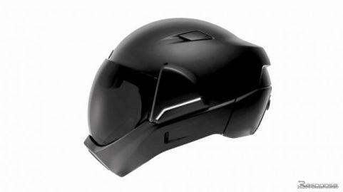 HUD+リアカメラ搭載の次世代ヘルメット登場、サウンドコントロールでノイズも低減