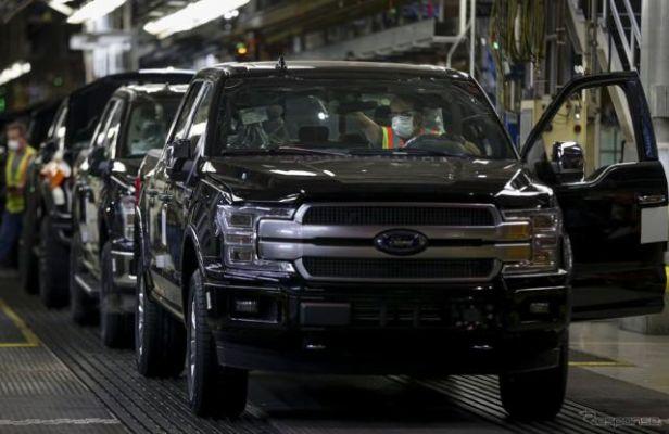 フォードモーターとFCA、米国生産を再開…新型コロナによる休止を解除