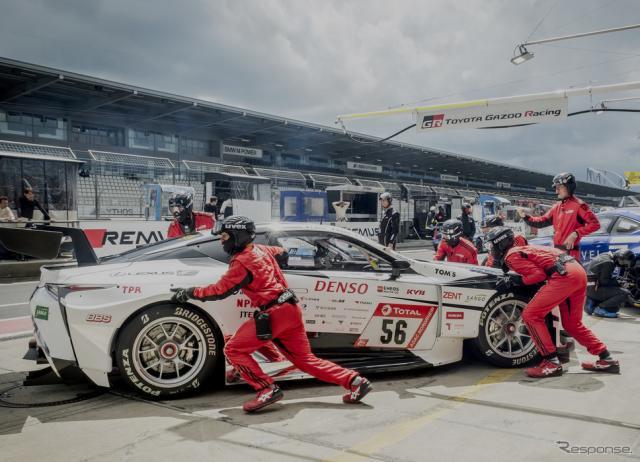 2019年のニュルブルクリンク24時間レース《写真提供 TOYOTA》
