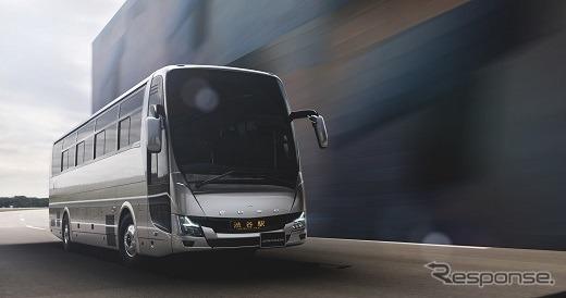 三菱ふそうエアロクィーン《写真 三菱ふそうトラック・バス》