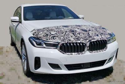 BMW 6シリーズ グランツーリスモ 初の改良新型、デビュー直前フルヌードを激写!