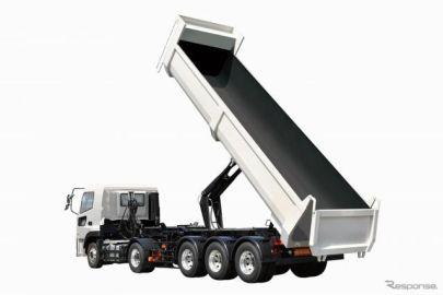 極東開発、新型土砂ダンプトレーラを発売…積載量と走行安定性向上