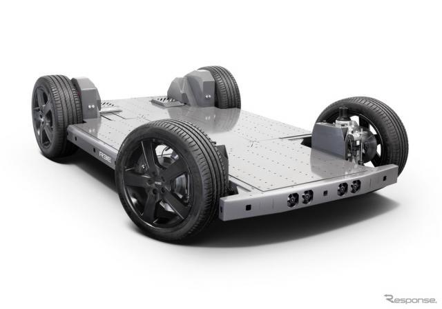 REEオートモーティブの次世代EV向けプラットフォーム《photo by REE Automotive》
