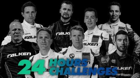 ファルケン、延期になった「ニュル24時間」を動画で応援…24時間で24の課題に挑戦