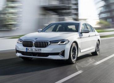 BMW 5シリーズ セダン に改良新型、48Vマイルドハイブリッドを拡大展開…欧州発表