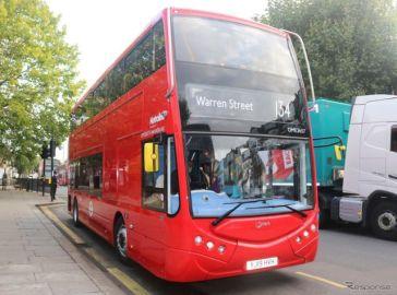 ZFの電動アクスル、2階建てEVバス37台に搭載…英ロンドン