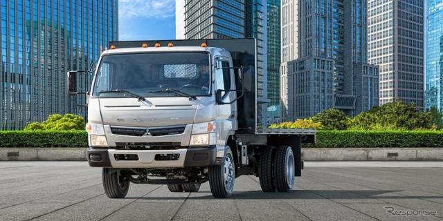 三菱ふそうキャンター《photo by Mitsubishi Fuso Truck of America》