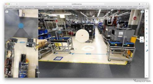 アウディ、工場を3Dデジタルスキャン…仮想で生産計画が可能に
