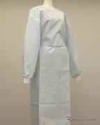 豊田合成、エアバッグ生地を使って防護服を製造---医療機関に提供