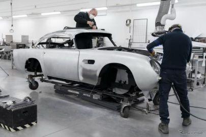 アストンマーティン『DB5ボンドカー』、25台を限定生産…回転式ナンバープレートなど再現