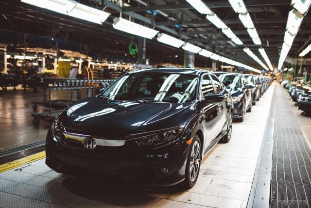 ホンダ、米インディアナ工場《photo by Honda》
