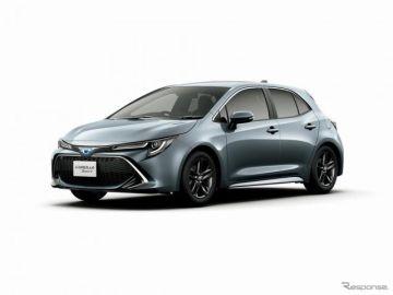 トヨタ カローラスポーツ、スタイル精悍な特別仕様車を発売