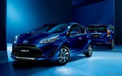 トヨタ アクア、特別仕様車「Sスタイルブラック」にパノラミックビューモニターを追加