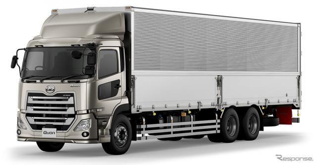 UDトラックス クオン、ショートキャブ車を追加…荷台内法長10mの高積載・高容積仕様