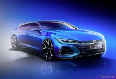 VW アルテオン に「シューティングブレーク」、6月24日発表