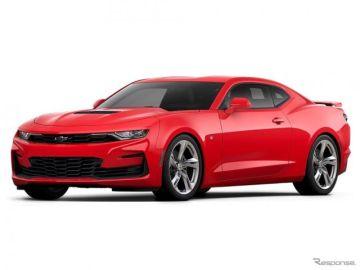 シボレー カマロ、Apple CarPlay & Android Autoを継続採用 価格は改訂