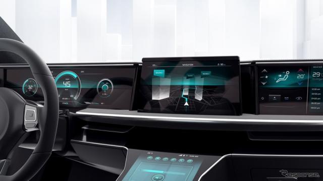 ボッシュの次世代コックピットのナビゲーションシステム《photo by Bosch》